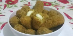 Croquete de Carne Moída com Catupiry Rende 100 und